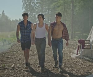serpents, sweetpea, and riverdale image
