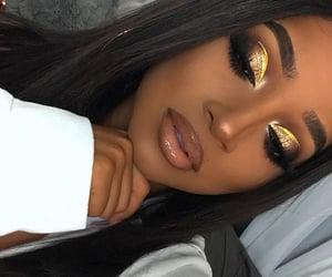 black girl, black hair, and crease image