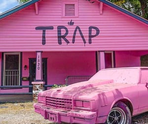 pink, trap, and trap house image