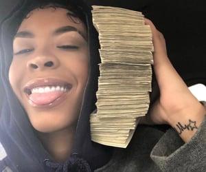 money, rico nasty, and goals image