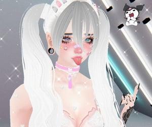 anime, goth, and imvu avatar image