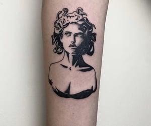 tattoo and medusa image