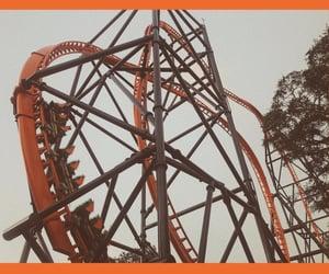 amusement park, Roller Coaster, and busch gardens image