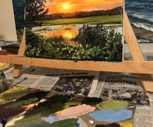 art, artsy, and paint image