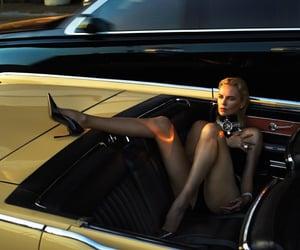 Charlize Theron, fashion, and w magazine image