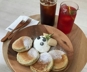 food, cafe, and soft image