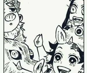 best friends, black and white, and chibi image