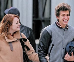 emma stone, peter parker, and amazing spiderman image