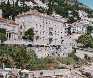 architecture, beach, and Croatia image