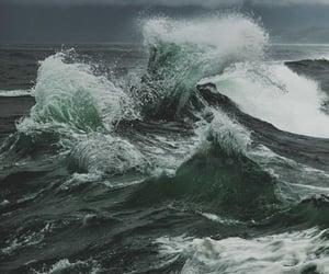 ocean, waves, and sea image