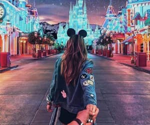 disney, disneyland, and travel image