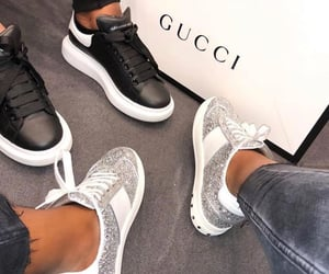 gucci, shoes, and sneakers image