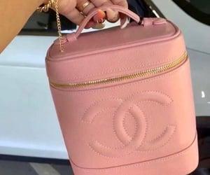 bag, chanel, and pink image