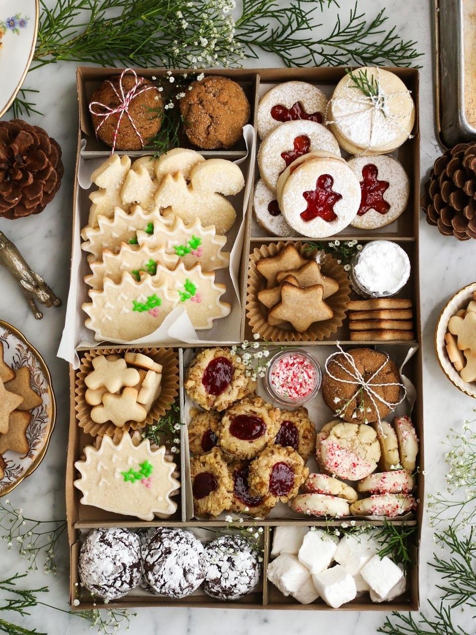 Cookie Sweet Christmas Festive Sugar Platter
