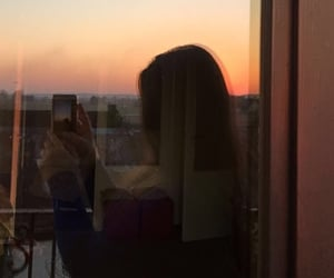 sunset, you, and love image