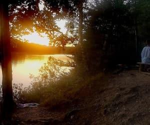 beautiful, camping, and panorama image