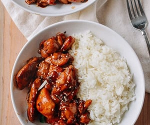 food, delicious, and rice image