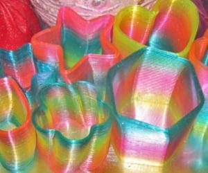 rainbow, rainbowaesthetic, and rainbowcore image