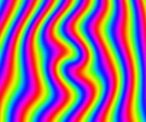 rainbowcore, aesthetic, and rainbow image