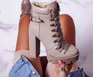 beige, aurumn, and boots image