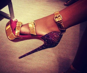 christian louboutin, high heels, and sexy image