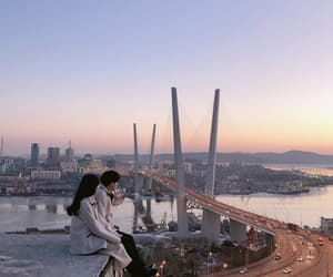 couple, city, and ulzzang image