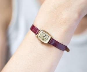 etsy, rectangular watch, and wristwatch ladies image