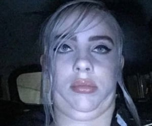 funny face and billie eilish image