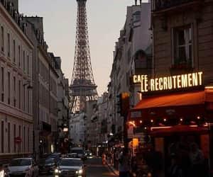 city, paris, and theme image