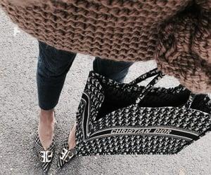 bag, fashion, and Christian Dior image