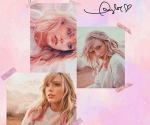 lover, pink, and Swift image