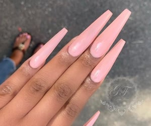 fashion, flawless, and long nails image