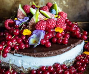 Chocolate Covered Vanilla Walnut Ice Cream Cake (Vegan and Gluten-Free) from HeatherChristo.com