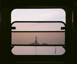landscape, new-york, and pink image