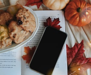 autumn, baking, and cafe image