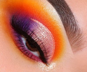 eyeshadow, makeup, and followme image
