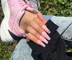 fashion, girly, and nail art image