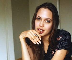 90s, retro, and Angelina Jolie image