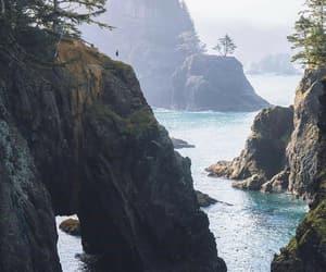 coast, nature, and ocean image