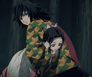 demon slayer, tomioka giyuu, and anime image