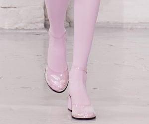 runway, fashion, and pink image