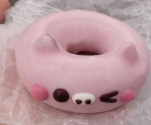 donut, food, and kawaii image