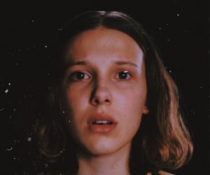eleven, wallpaper, and stranger things image