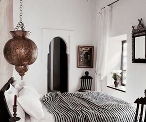 bedroom, interior design, and house goals image