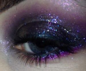 glitter, makeup, and grunge image