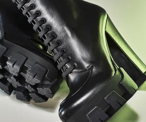black, gothic, and black boots image