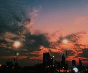 city, Kuwait, and sky image