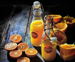 comida, naranja, and zumo image