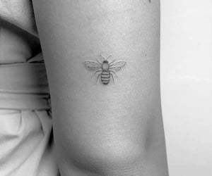 art, artistic, and bee image