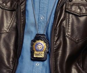 badge, Brooklyn, and detective image